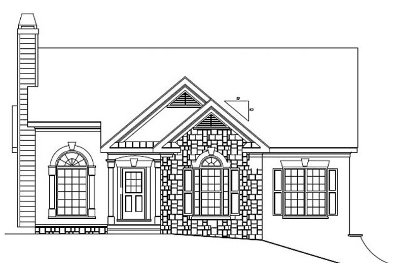 Country Exterior - Front Elevation Plan #927-149 - Houseplans.com