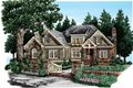 European Style House Plan - 4 Beds 4 Baths 3125 Sq/Ft Plan #927-358 Exterior - Front Elevation