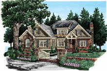 Home Plan - European Exterior - Front Elevation Plan #927-358