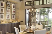 Dream House Plan - European Interior - Dining Room Plan #48-878