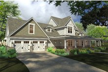 Farmhouse Exterior - Front Elevation Plan #120-189