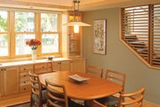 Prairie Style House Plan - 3 Beds 2.5 Baths 2464 Sq/Ft Plan #454-1 Interior - Dining Room
