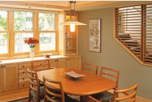 Prairie Interior - Dining Room Plan #454-1