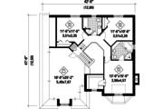 European Style House Plan - 3 Beds 2 Baths 2634 Sq/Ft Plan #25-4857 Floor Plan - Upper Floor Plan