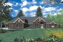 Home Plan - Southern Exterior - Front Elevation Plan #48-352