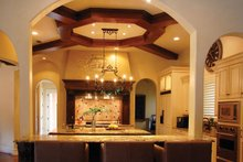 Home Plan - Mediterranean Interior - Kitchen Plan #1058-11