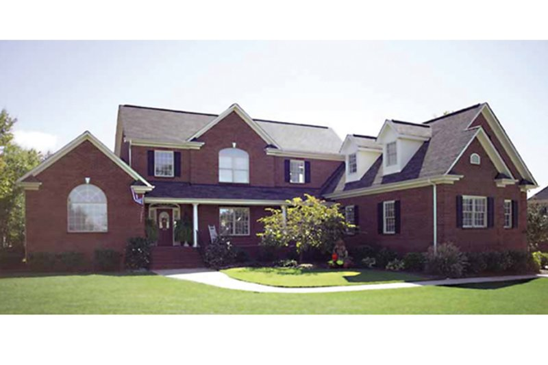 Traditional Exterior - Front Elevation Plan #314-275 - Houseplans.com