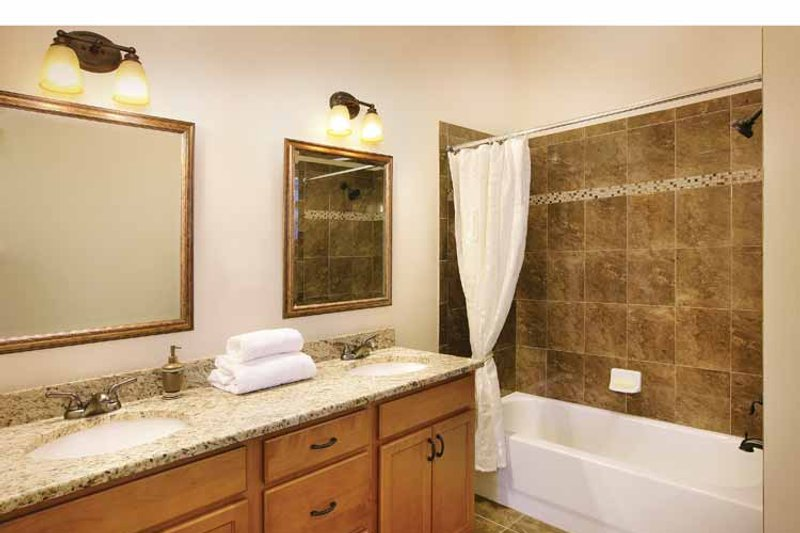 Mediterranean Interior - Bathroom Plan #938-20 - Houseplans.com