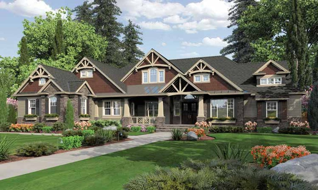Traditional style house plan 3 beds 3 baths 3275 sq ft for Weinmaster house plans