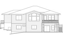 Dream House Plan - Prairie Exterior - Rear Elevation Plan #124-924