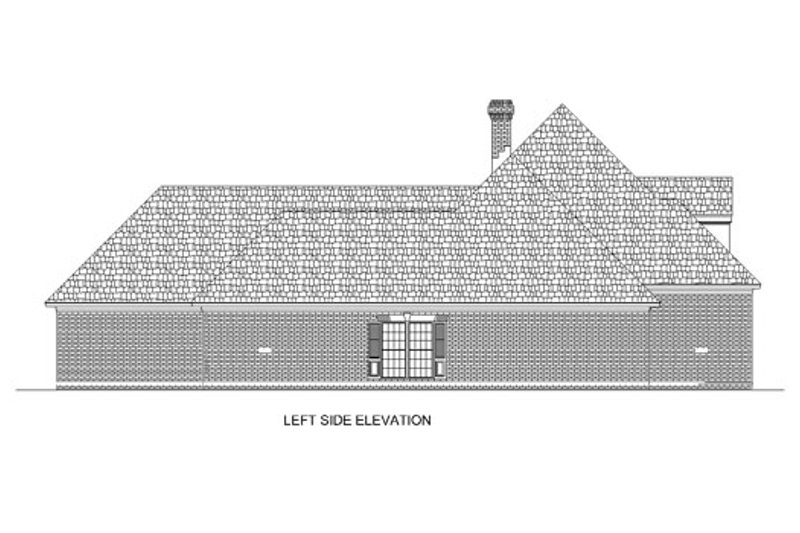 Traditional Exterior - Other Elevation Plan #45-152 - Houseplans.com