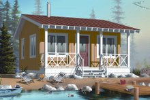 Home Plan - Cottage Exterior - Front Elevation Plan #23-2289