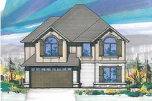 Country Exterior - Front Elevation Plan #509-216