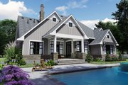 Farmhouse Style House Plan - 4 Beds 4 Baths 2191 Sq/Ft Plan #120-259 Exterior - Rear Elevation