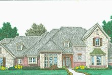 Dream House Plan - Country Exterior - Front Elevation Plan #310-1318