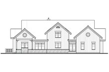 Architectural House Design - Front View - 9000 square foot Beach home