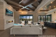 Contemporary Style House Plan - 5 Beds 4.5 Baths 4159 Sq/Ft Plan #930-509 Interior - Other