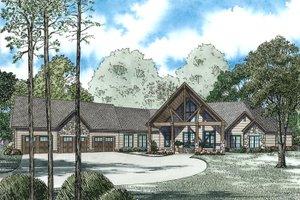 Craftsman Exterior - Front Elevation Plan #17-2500