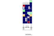 Modern Style House Plan - 2 Beds 1 Baths 798 Sq/Ft Plan #905-3