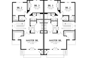 Modern Style House Plan - 3 Beds 2.5 Baths 2861 Sq/Ft Plan #48-261 Floor Plan - Upper Floor Plan