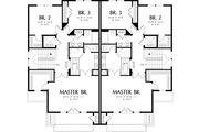 Modern Style House Plan - 3 Beds 2.5 Baths 2861 Sq/Ft Plan #48-261 Floor Plan - Upper Floor