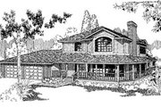Traditional Style House Plan - 3 Beds 2.5 Baths 2337 Sq/Ft Plan #60-147