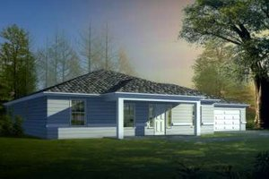 Traditional Exterior - Front Elevation Plan #1-1453