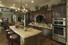 Mediterranean Interior - Kitchen Plan #1039-1