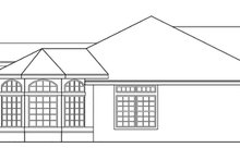 Home Plan - Mediterranean Exterior - Other Elevation Plan #124-432