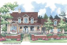 Victorian Exterior - Front Elevation Plan #930-195