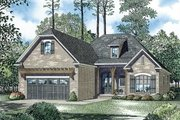 European Style House Plan - 3 Beds 2 Baths 1572 Sq/Ft Plan #17-2453