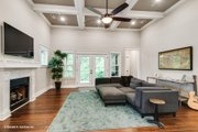 Craftsman Style House Plan - 3 Beds 3 Baths 1819 Sq/Ft Plan #929-869 Interior - Family Room