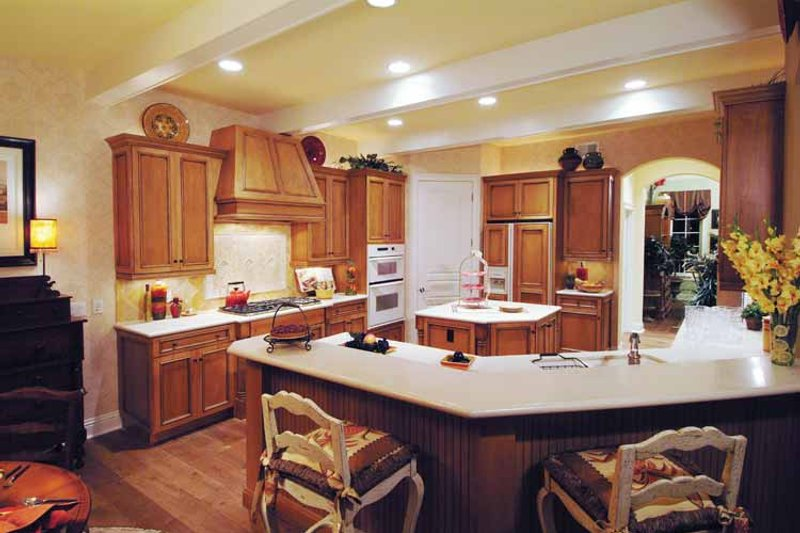 Country Interior - Kitchen Plan #930-331 - Houseplans.com