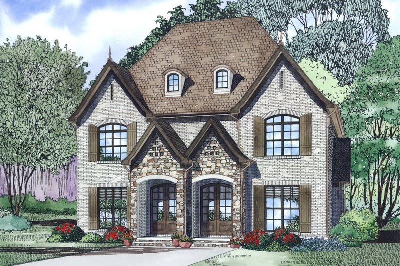 House Plan Design - European Exterior - Other Elevation Plan #17-2526