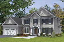 House Plan Design - Traditional Exterior - Front Elevation Plan #328-440