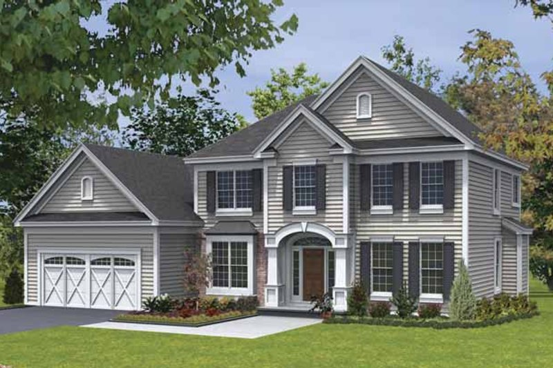 Dream House Plan - Traditional Exterior - Front Elevation Plan #328-440