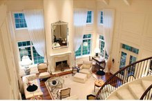 European Interior - Family Room Plan #928-65