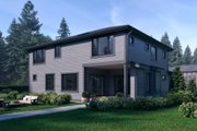 Traditional Style House Plan - 4 Beds 4 Baths 3598 Sq/Ft Plan #1066-52 Exterior - Rear Elevation