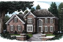 House Design - Traditional Exterior - Front Elevation Plan #927-61
