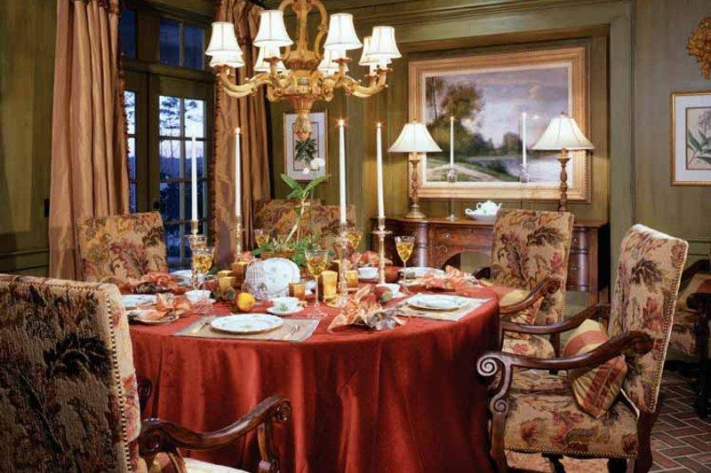 Colonial Interior - Dining Room Plan #429-327 - Houseplans.com