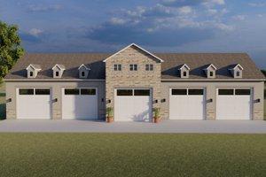 Farmhouse Exterior - Front Elevation Plan #1060-83