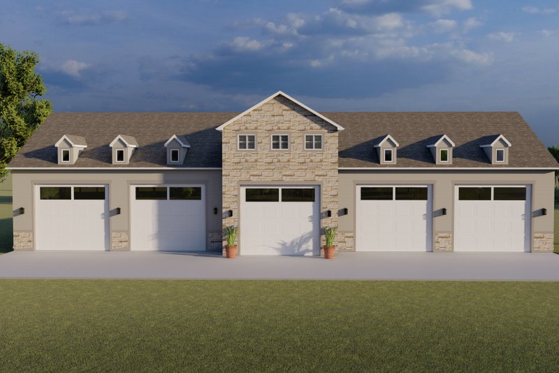Home Plan - Farmhouse Exterior - Front Elevation Plan #1060-83