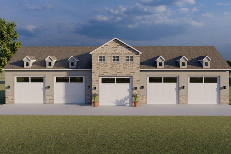 Architectural House Design - Farmhouse Exterior - Front Elevation Plan #1060-83