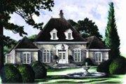 European Style House Plan - 5 Beds 3.5 Baths 2717 Sq/Ft Plan #137-225