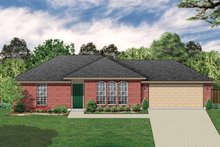 House Plan Design - Ranch Exterior - Front Elevation Plan #84-656