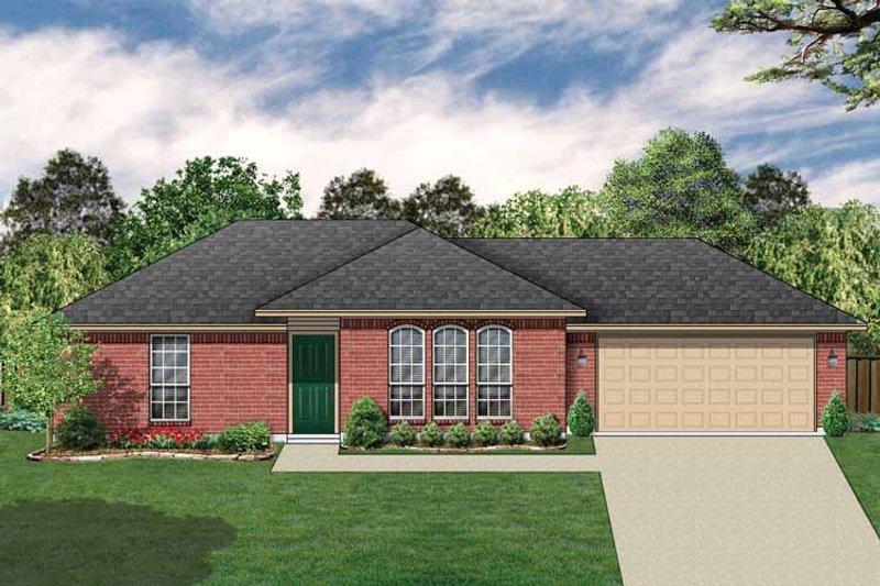 House Plan Design - Ranch Exterior - Front Elevation Plan #84-656