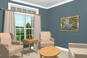 Southern Style House Plan - 3 Beds 3 Baths 2184 Sq/Ft Plan #56-170 Photo