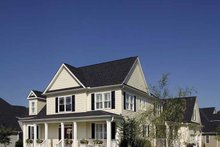 Architectural House Design - Country Exterior - Front Elevation Plan #929-502