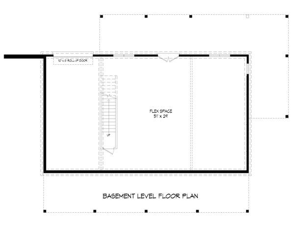 Dream House Plan - Traditional Floor Plan - Lower Floor Plan #932-421