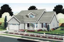 Home Plan - Traditional Exterior - Front Elevation Plan #513-2125